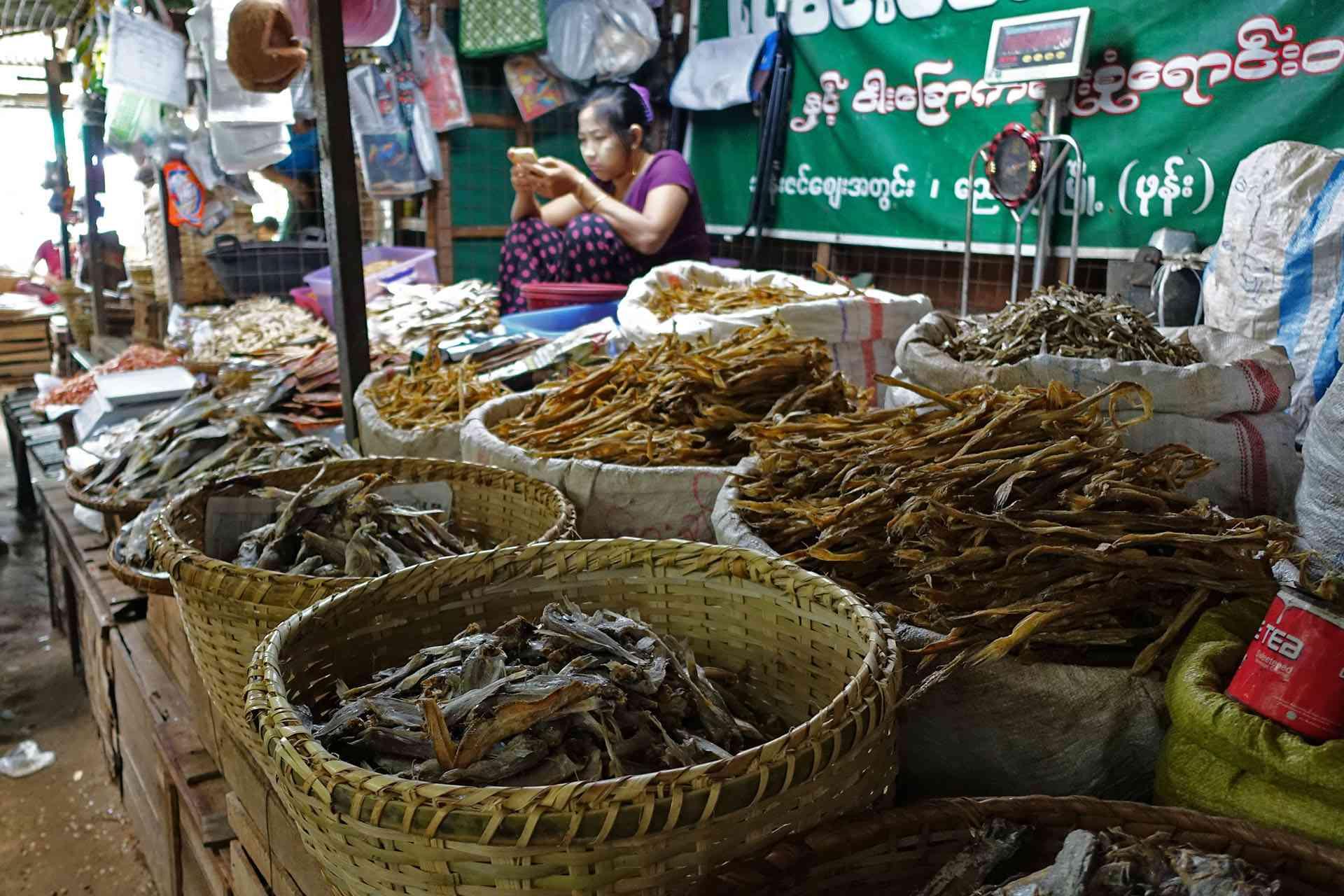 Nyaung-U Market, Bagan, Myanmar