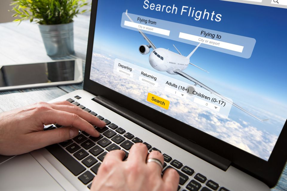 Booking a flight with airline miles