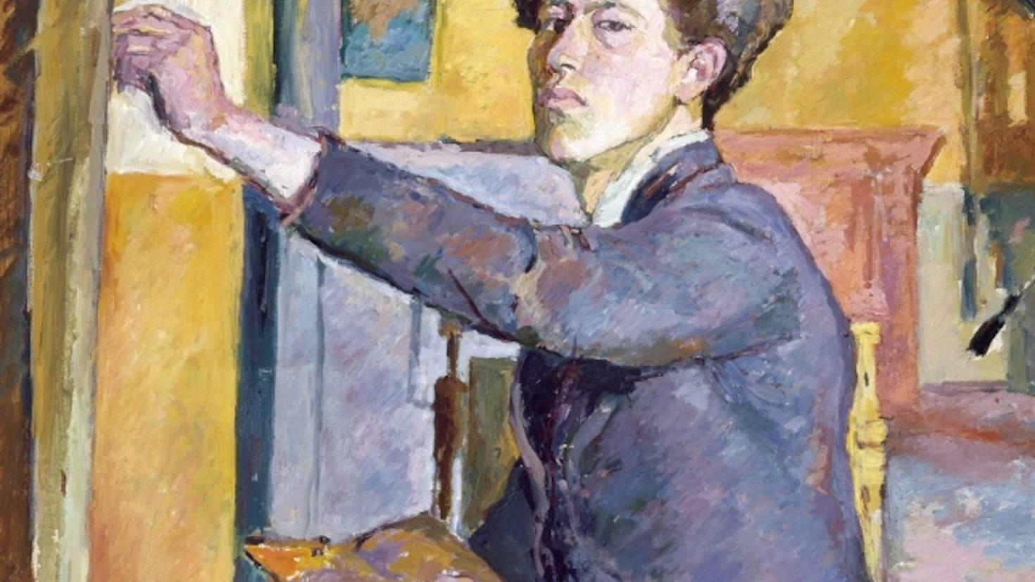 Alberto Giacometti, Autoportrait (Self-portrait), 1921. Courtesy of Musée Picasso