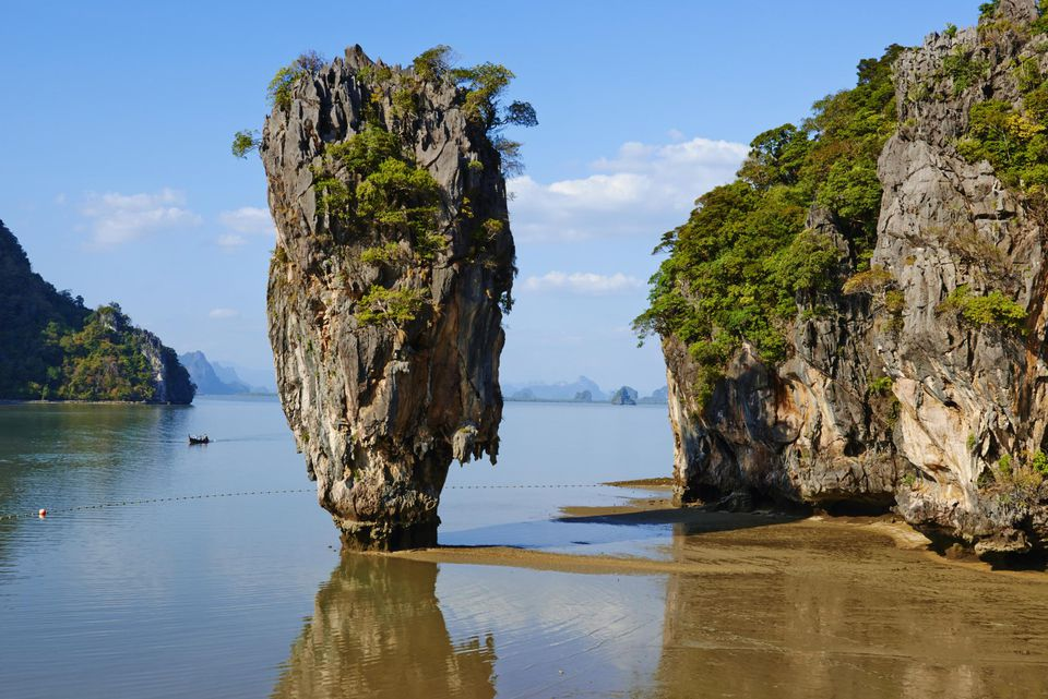 Thailand, Ao Phang Nga, James Bond rock