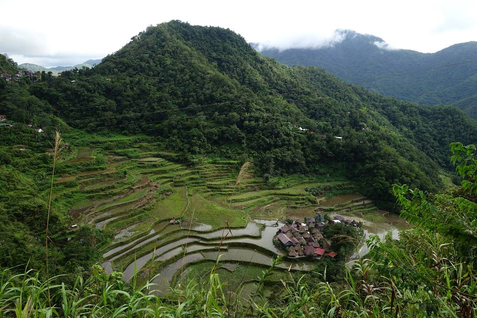 Bangaan Rice Terraces, Philippine Cordilleras.