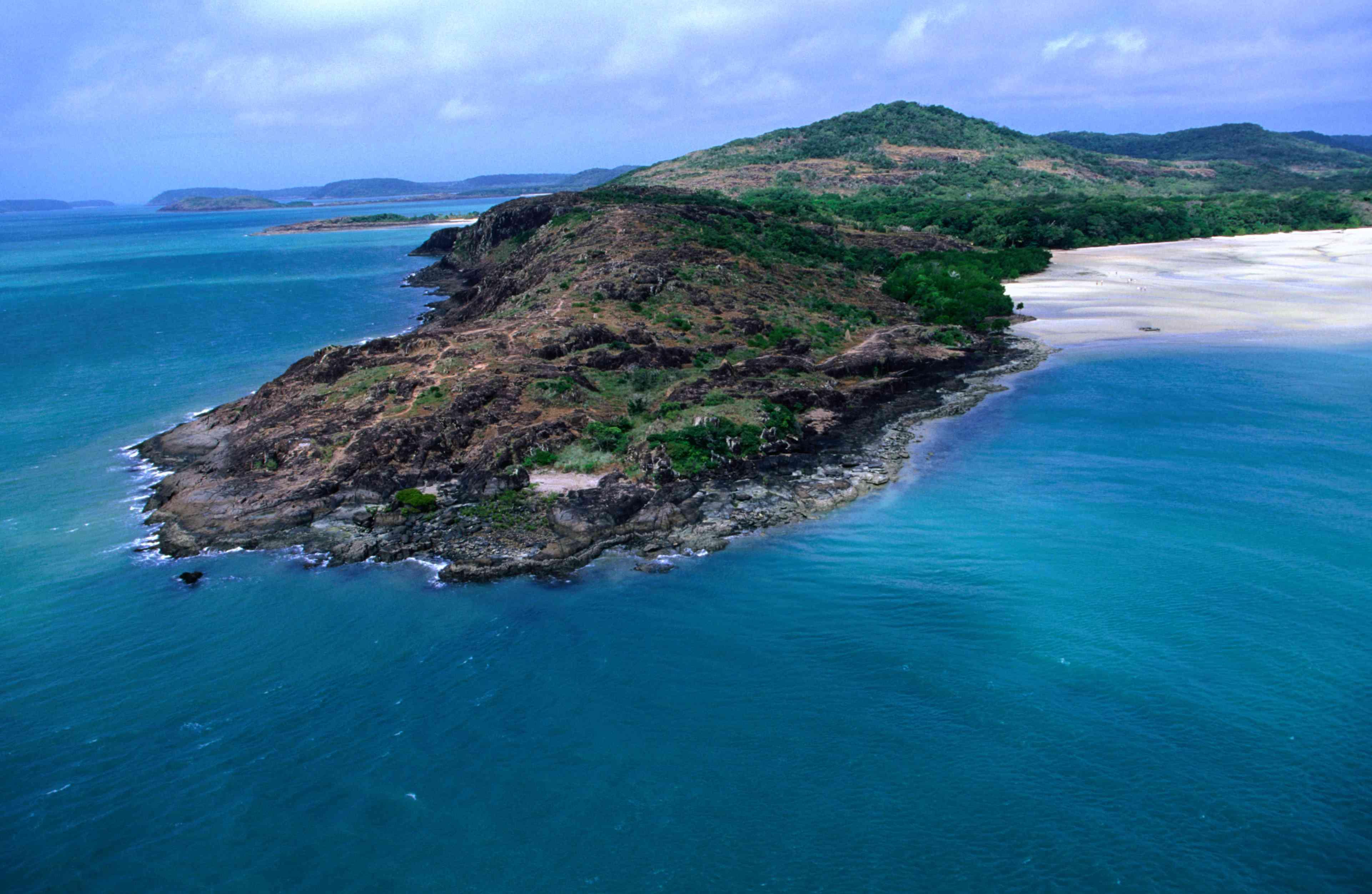 Tip of Cape York Peninsula in Australia
