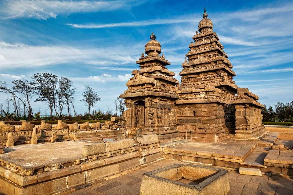 Shore temple, Mamallapuram.