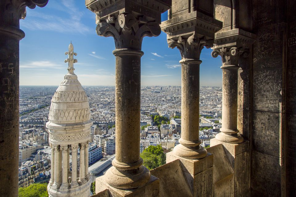 View of Paris from the Sacre-Coeur