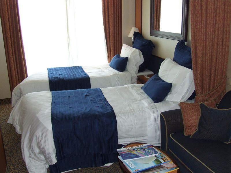 Deluxe Oceanview Balcony Cabin on the Jewel of the Seas