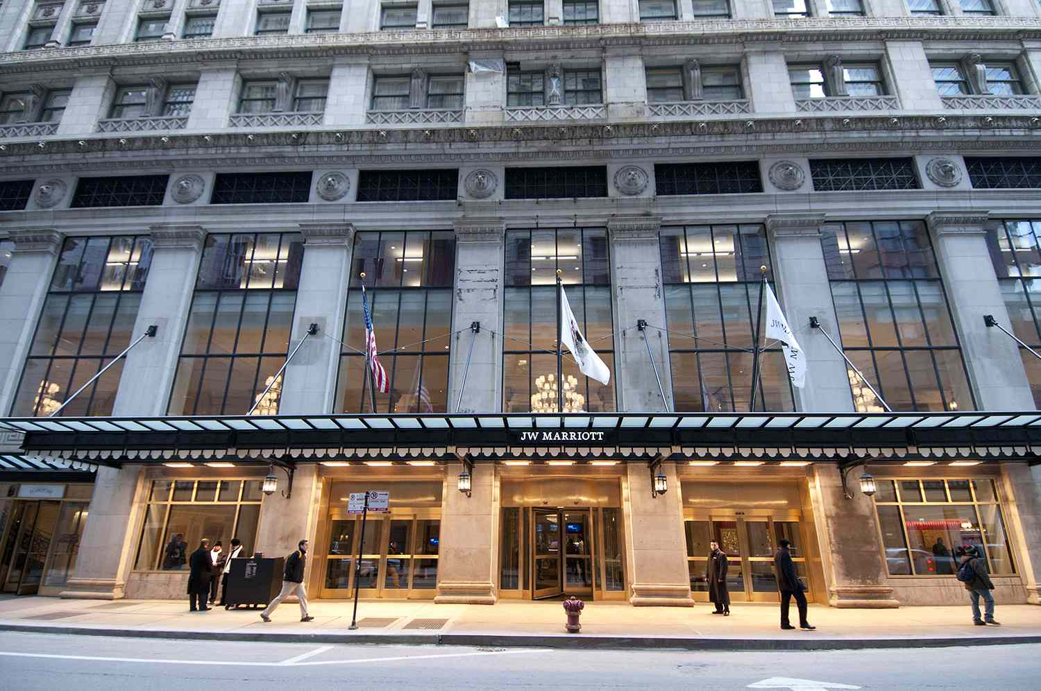 Grand Opening Of The JW Marriott Chicago