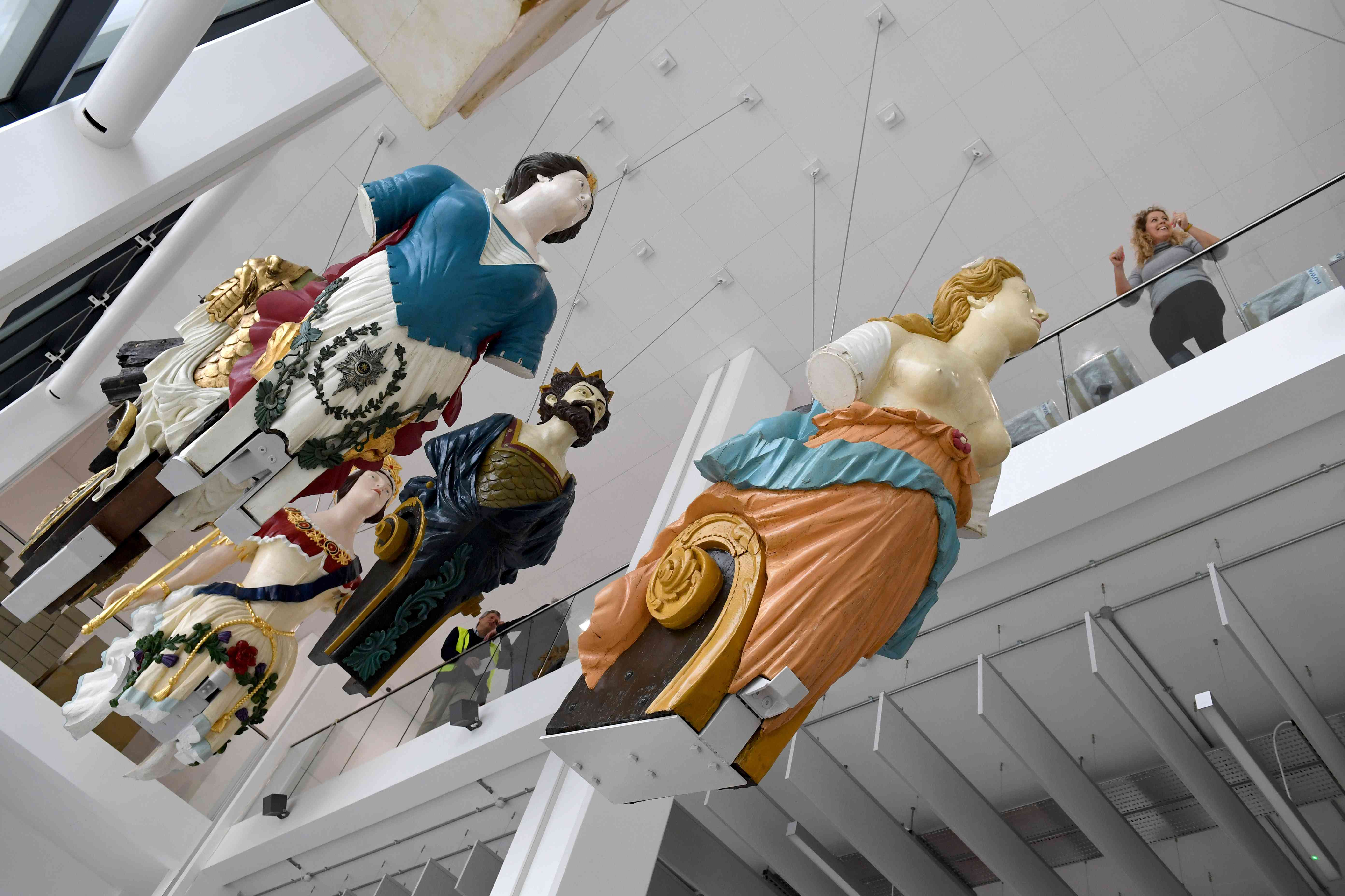 Ships Figureheads Unveiled At The Box Museum