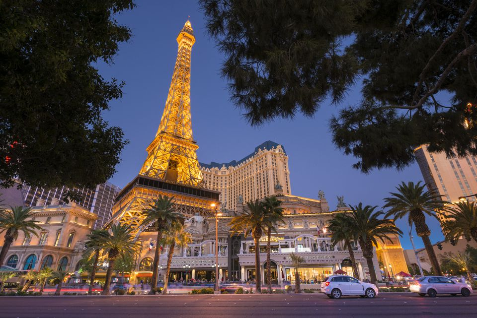 United States, Nevada, Las Vegas, the Strip, Paris Las Vegas hotel and casino