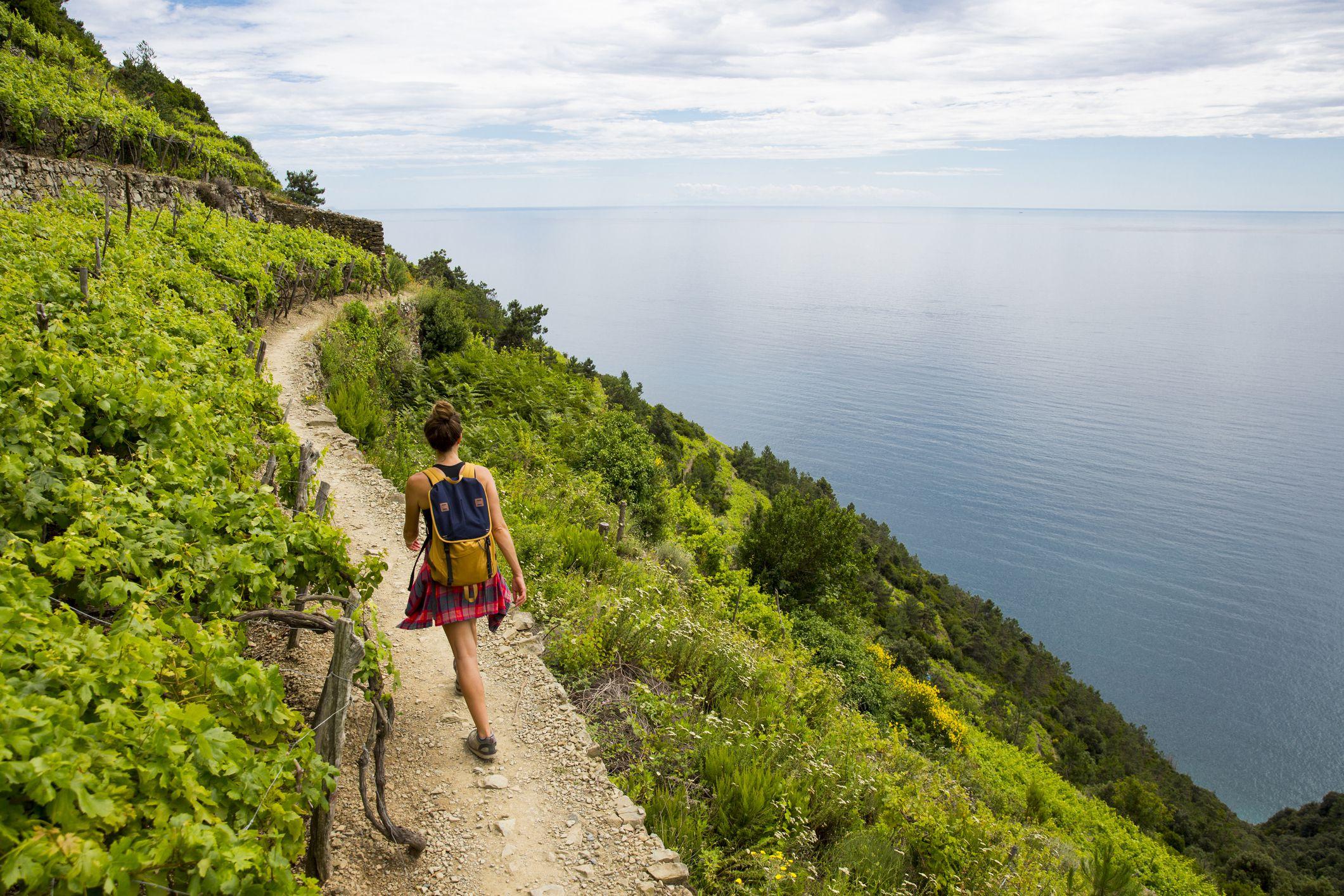 Corniglia Italy Map.Hiking The Cinque Terre Trails In Italy