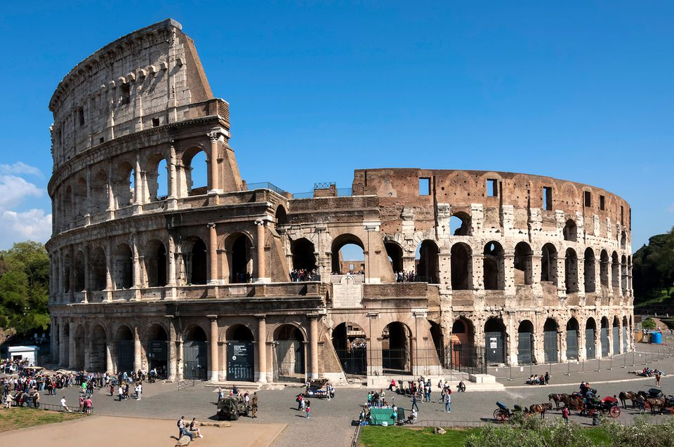 Colosseum, Ancient Roman Forum