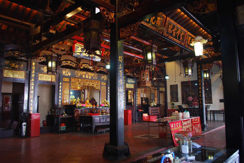 Prayer Hall, Cheng Hoon Teng Temple, Malacca Malaysia