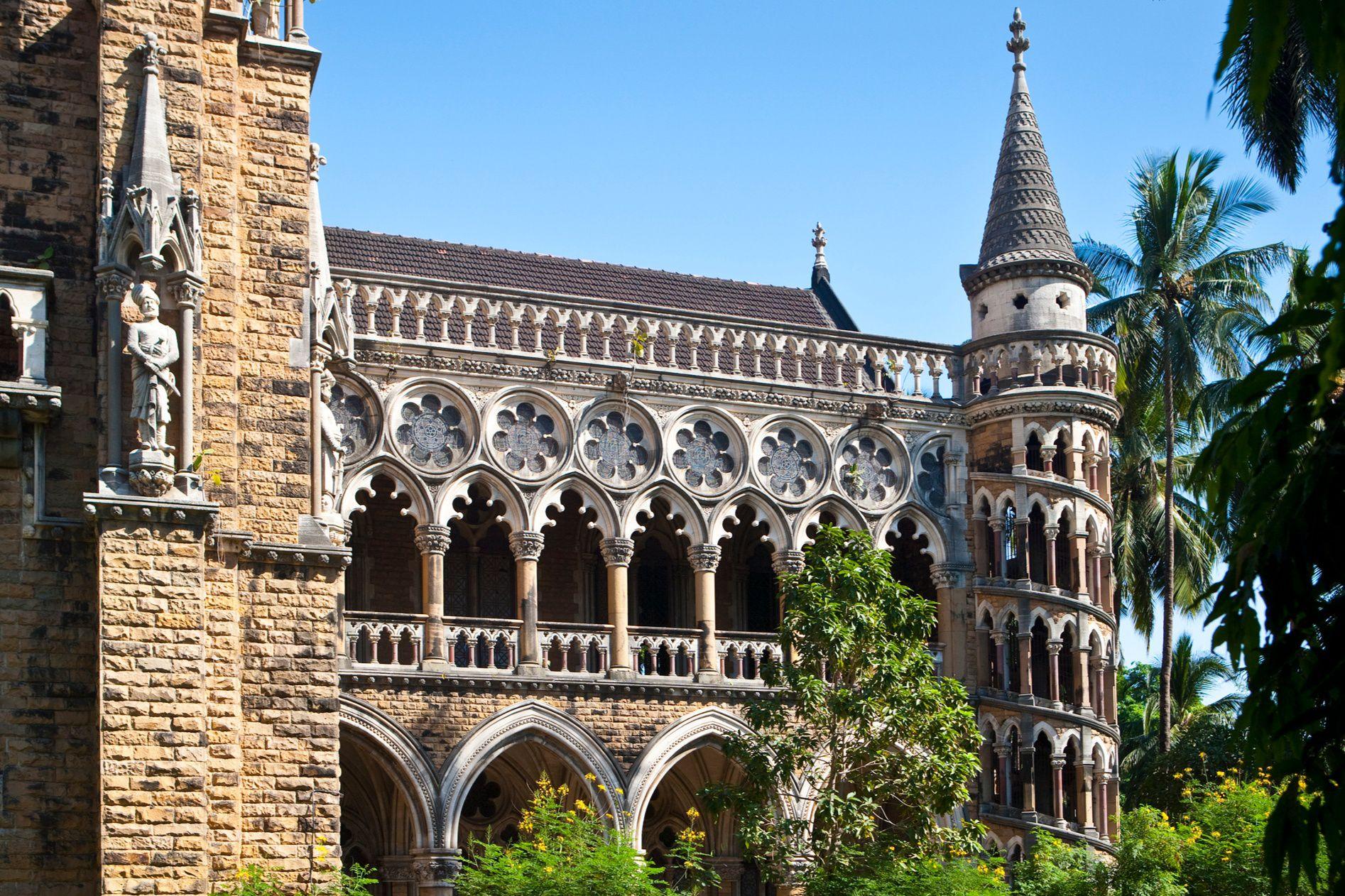 Mumbai University library.