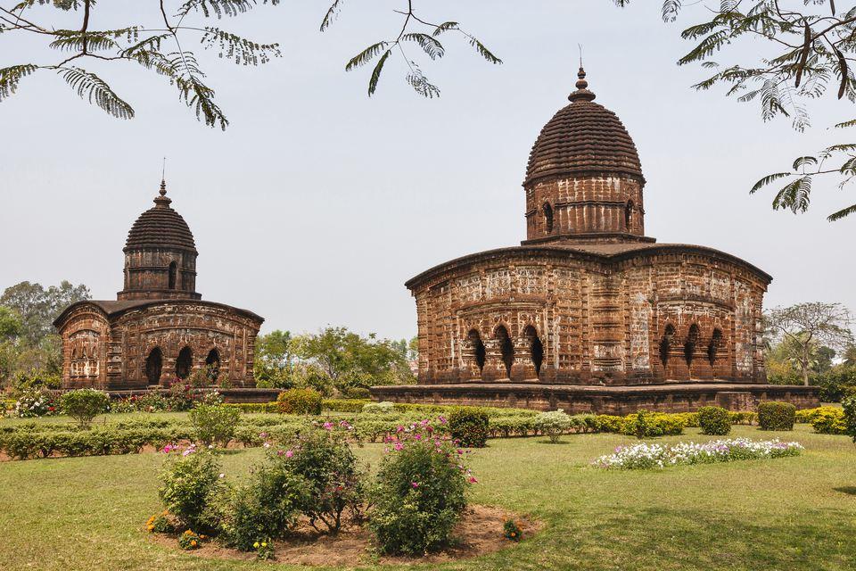 Bishnupur terracotta temples, West Bengal