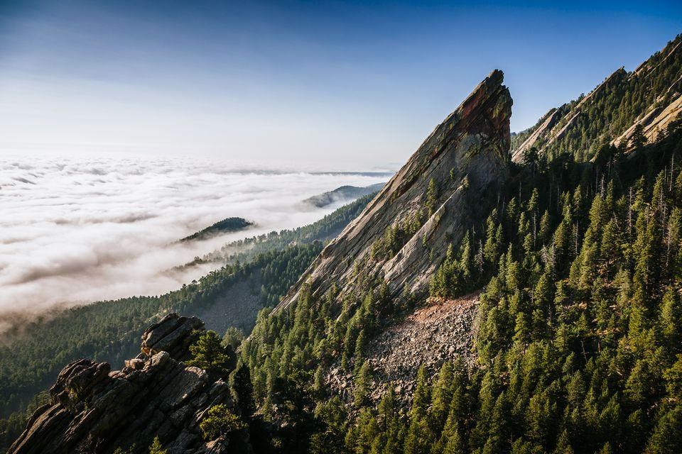Third Flatiron near Boulder