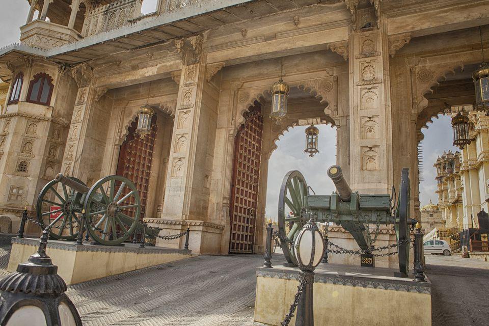 Uaipur City Palace.