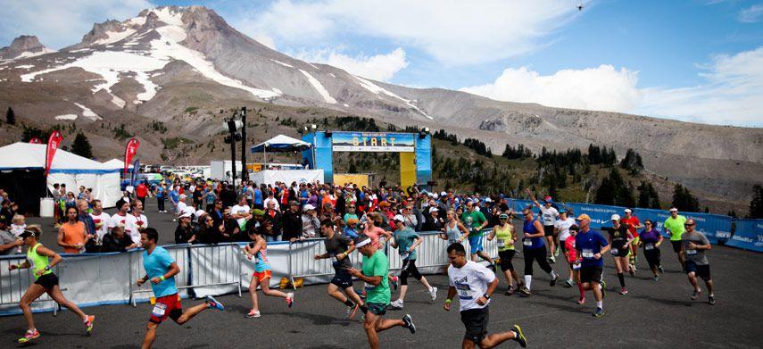 Relay run in Oregon
