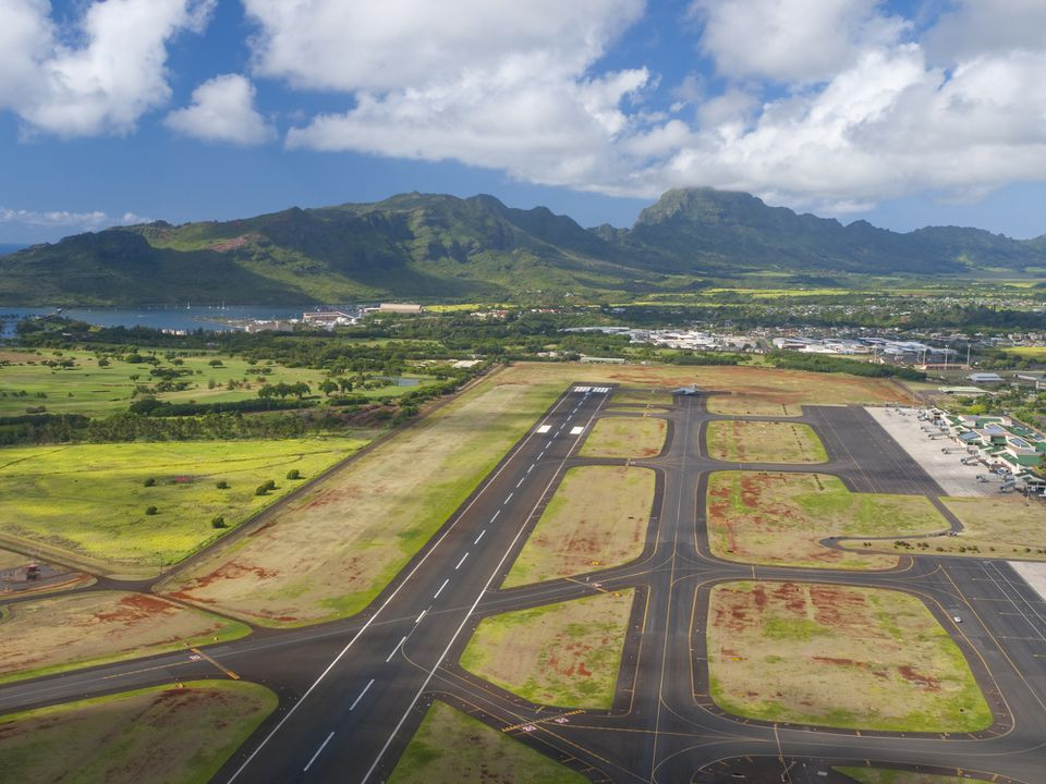 Lihue Airport on Kauai