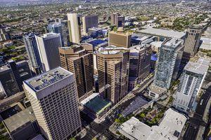 downtown skyscrapers in Phoenix, Arizona