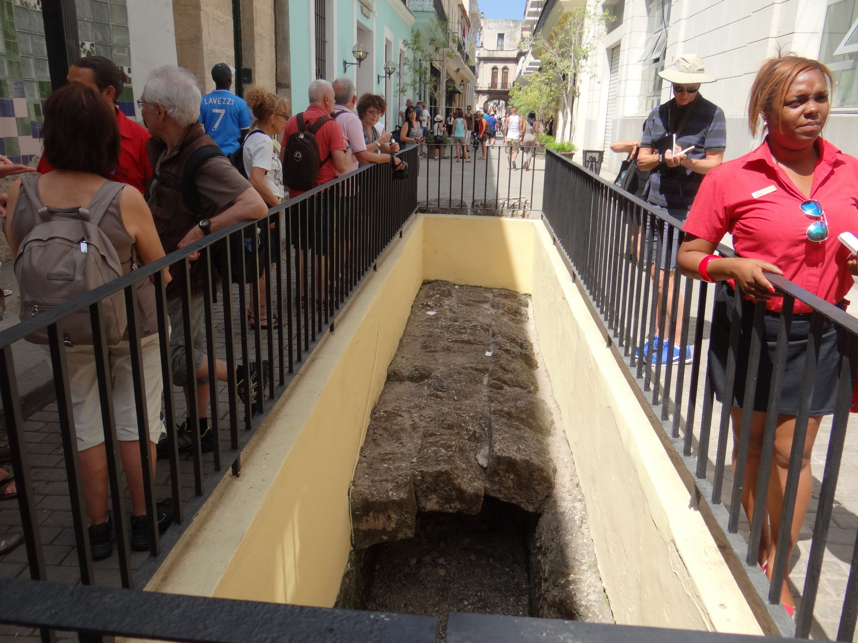 16th century aqueduct in Havana