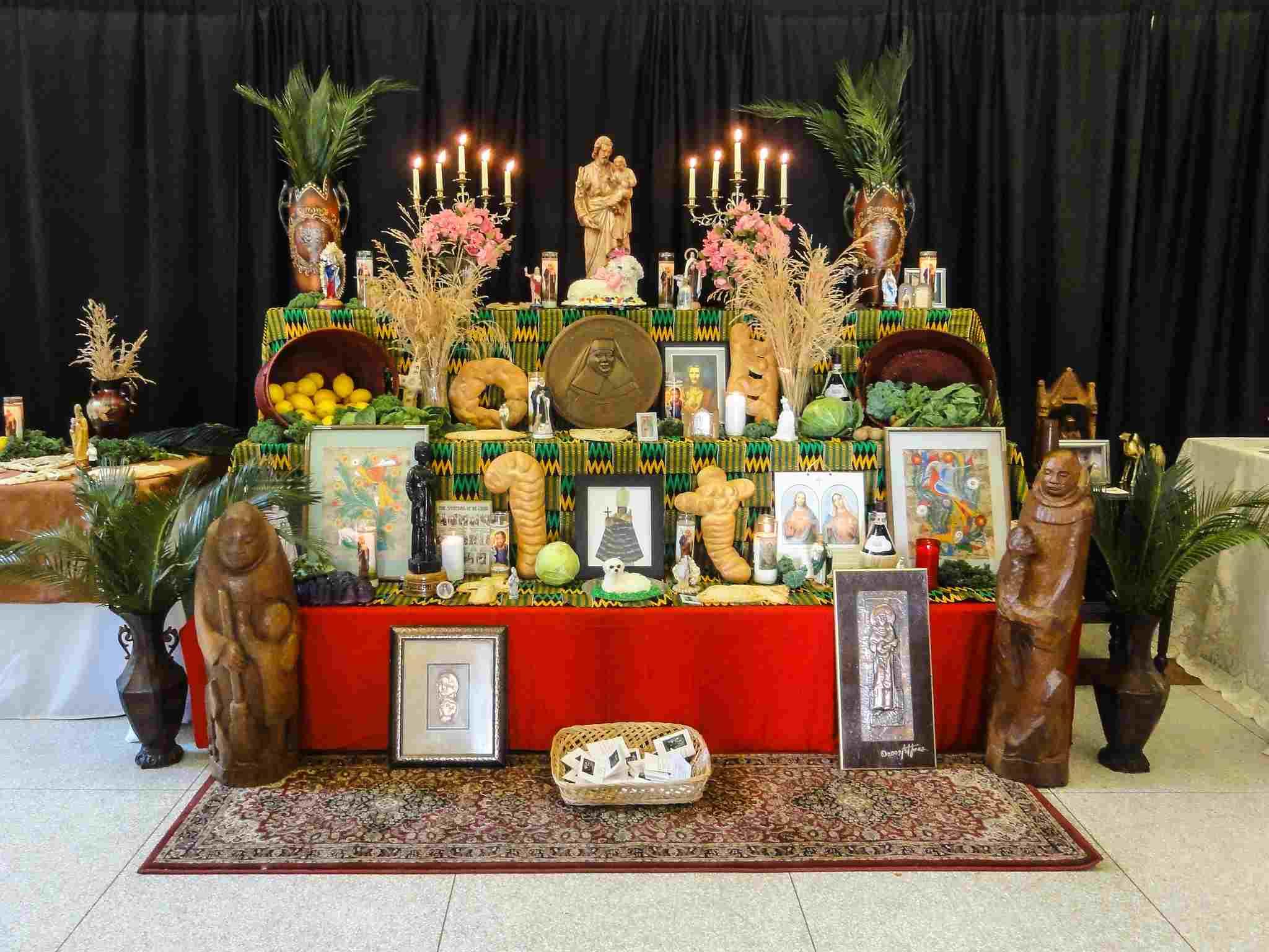 St. Joseph's Altar 2017