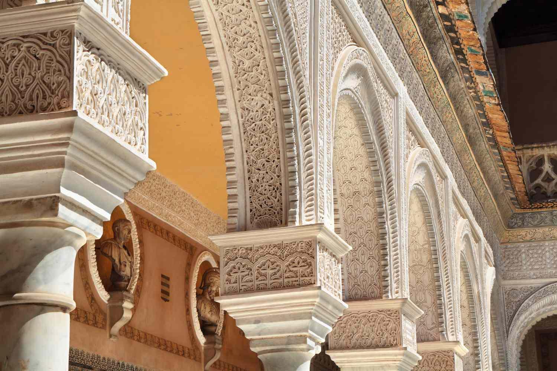 Architectural detail at Casa de Pilatos, Seville