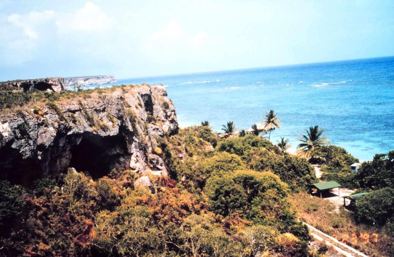 Mona Island, Puerto Rico.