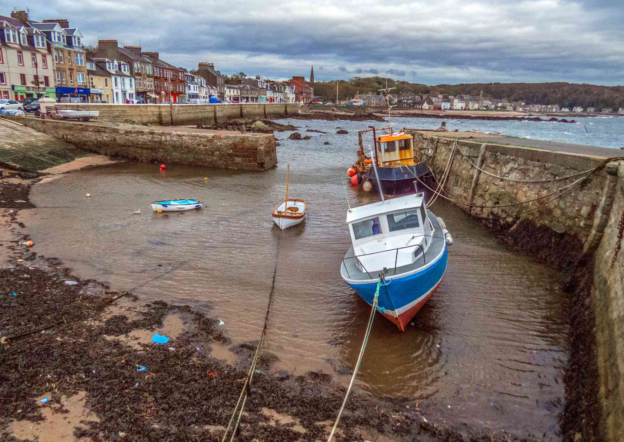 The town of Millport on Great Cumbrae