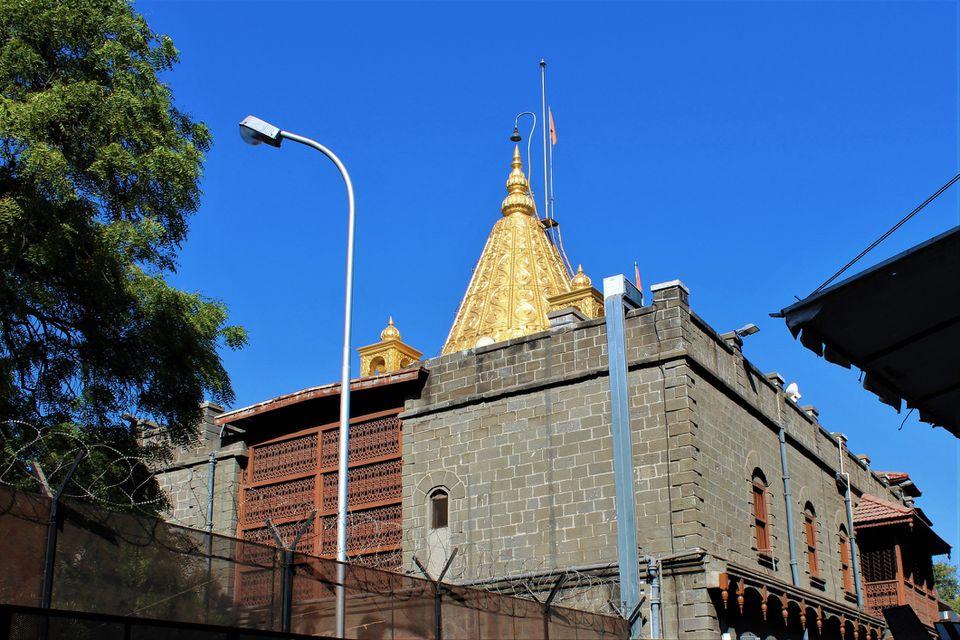 Sai Baba Temple Vesa at Shirdi In India