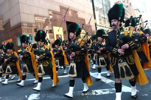 The 245th Annual St. Patrick's Day Parade In New York City