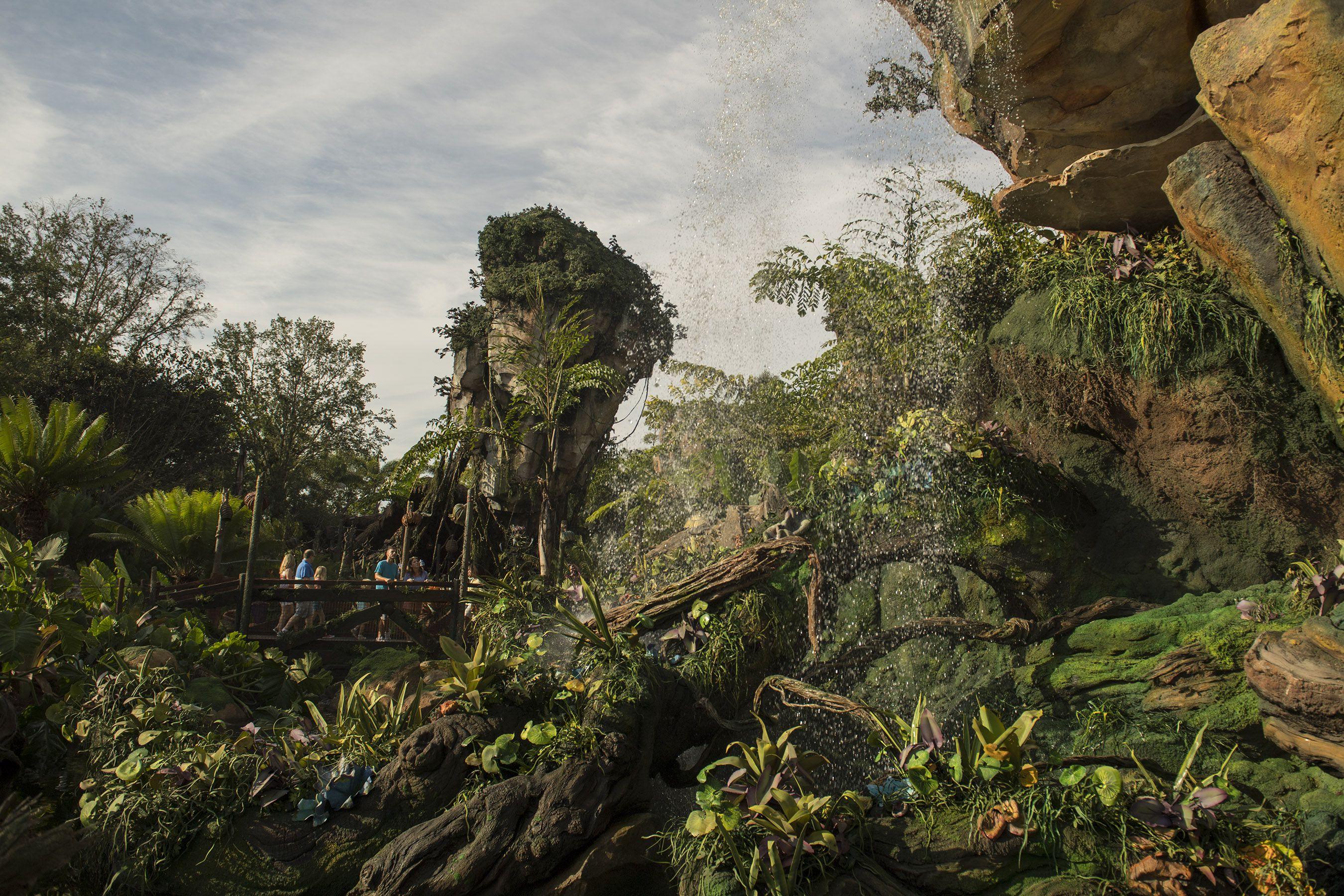 Mundo de Pandora de la tierra de Avatar Disney World