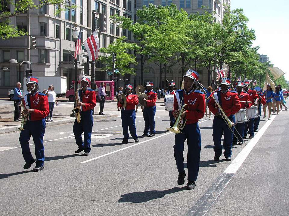 Anacostia High School Marching Band