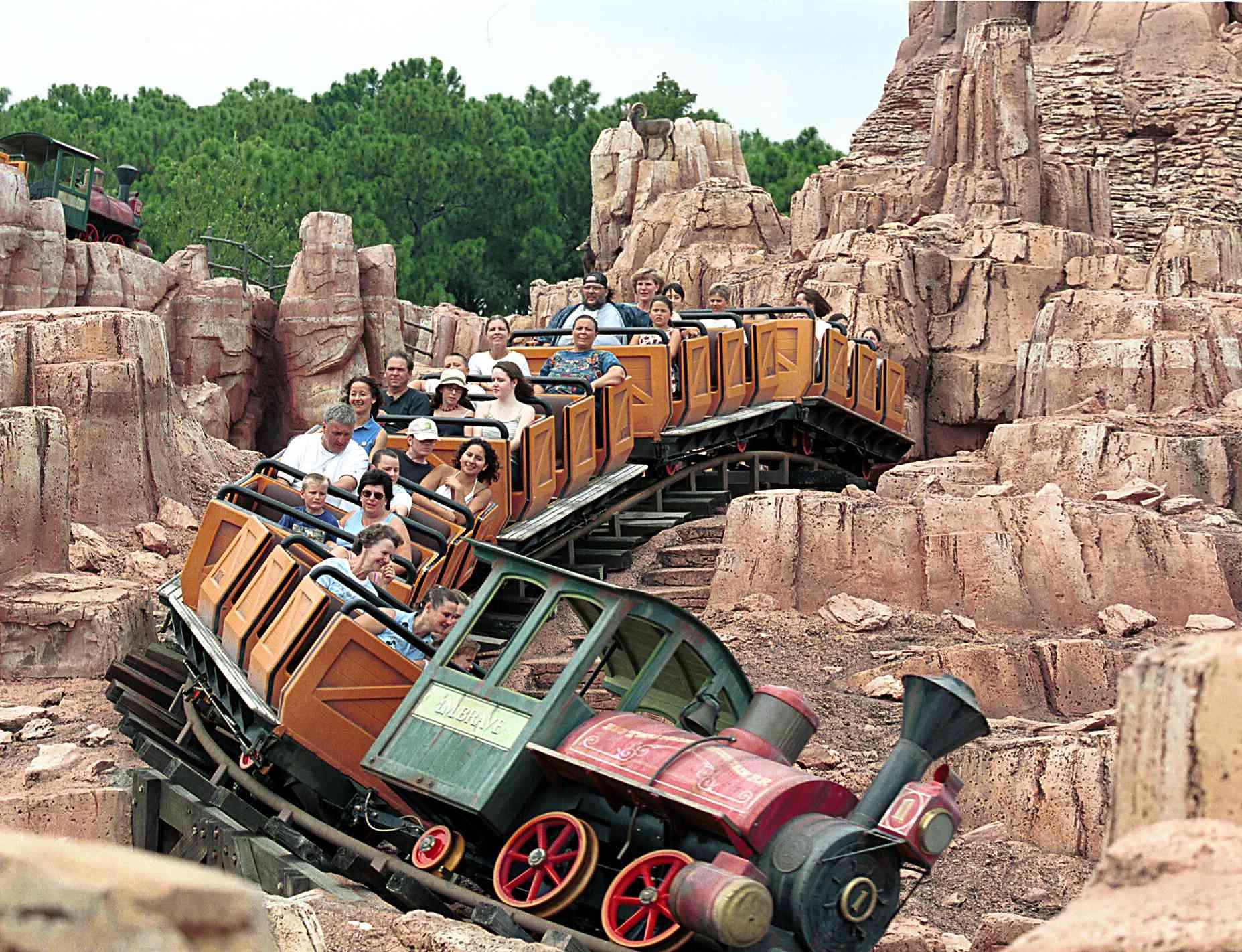 Big Thunder Mountain Railroad coaster