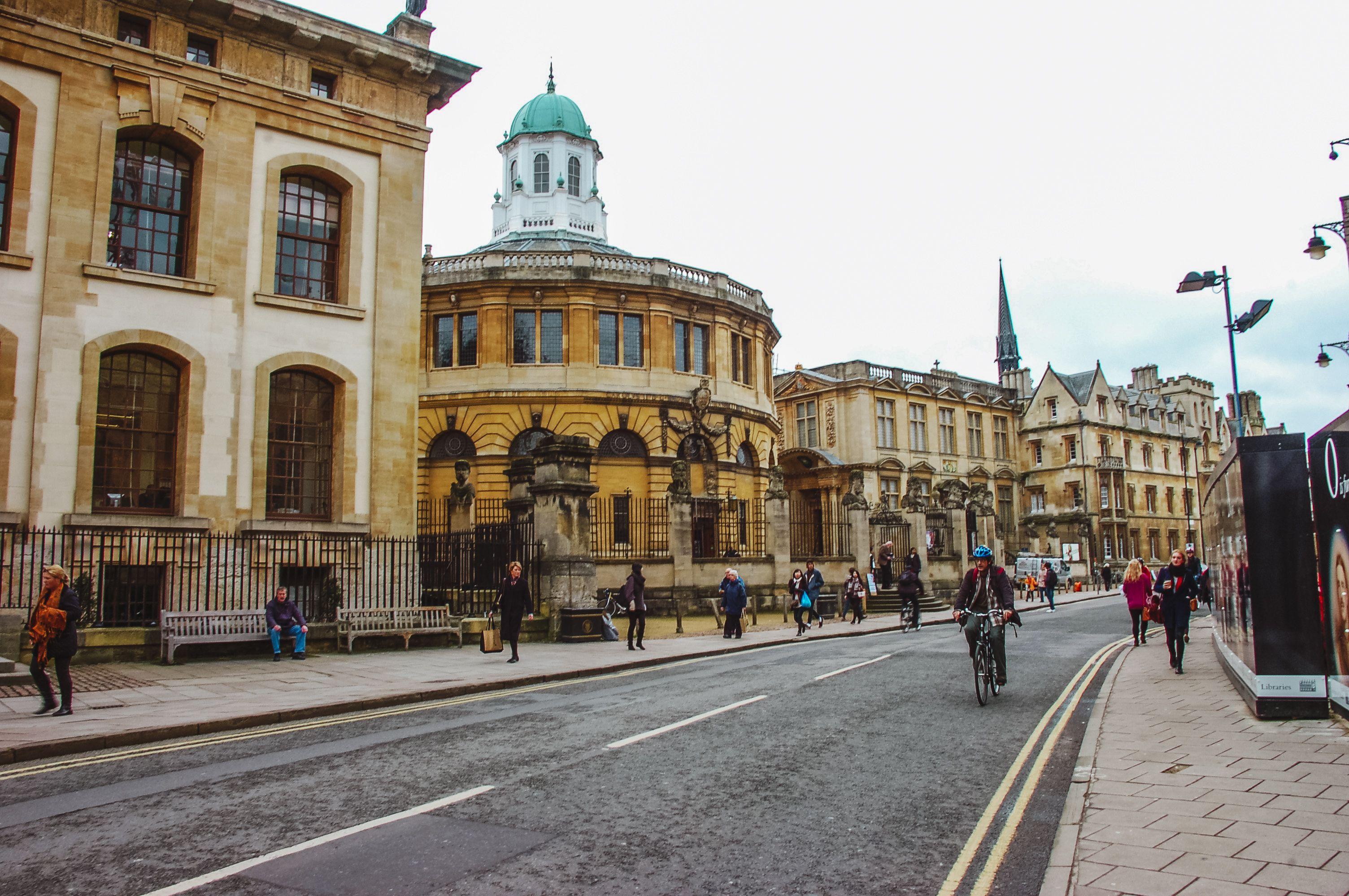 Una calle en Oxford