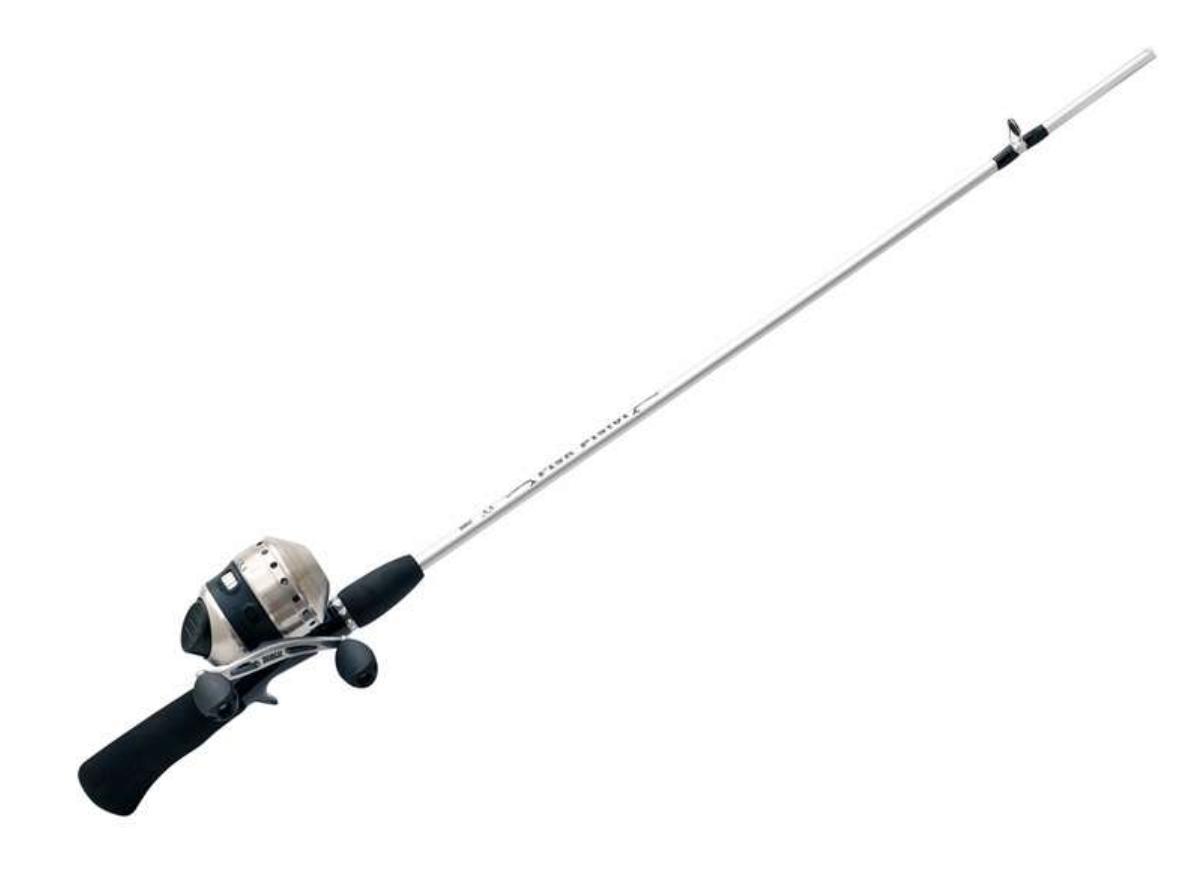 Zebco 33 Fish Pistol Spincast Combo