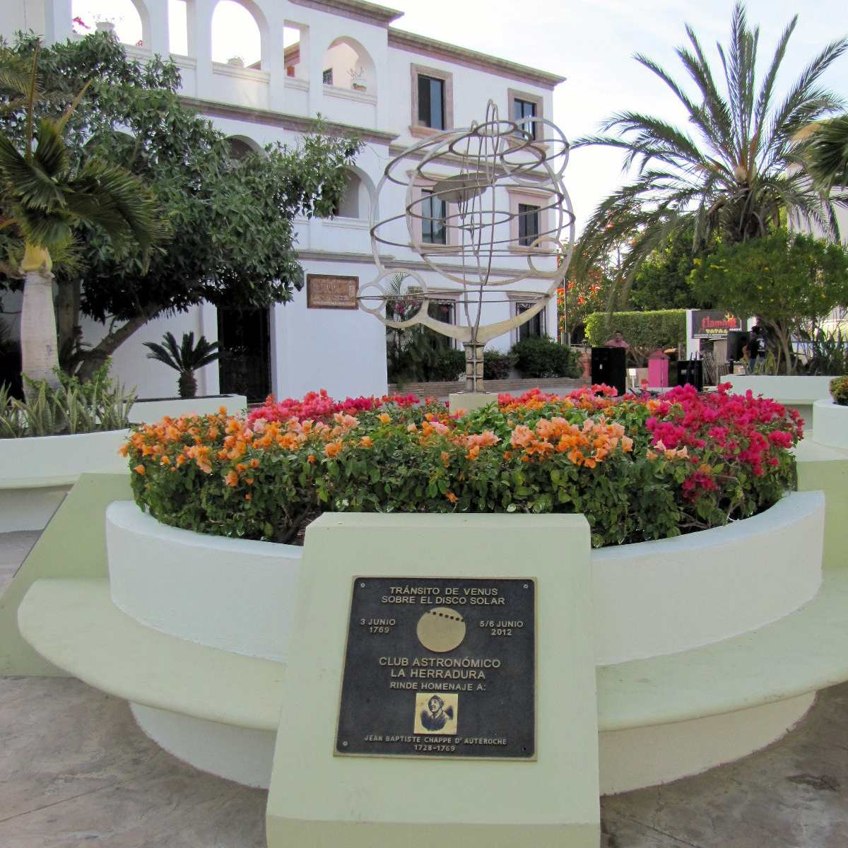 Monument marking the passage of Venus in San Jose del Cabo