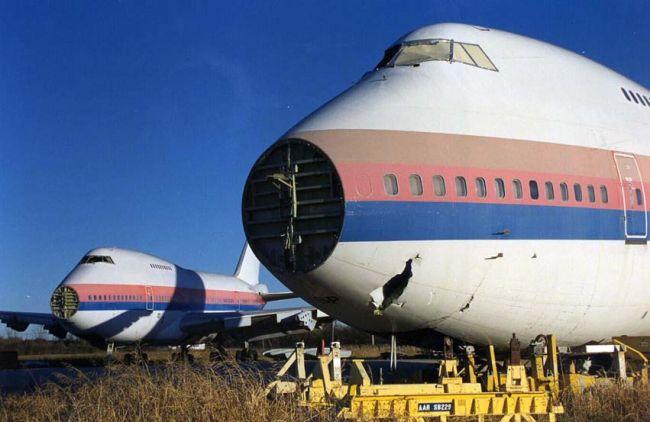 Digging In Airplane Graveyards