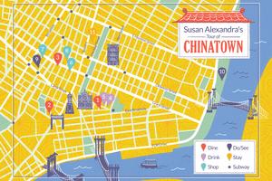 Susan Alexandra Chinatown Map