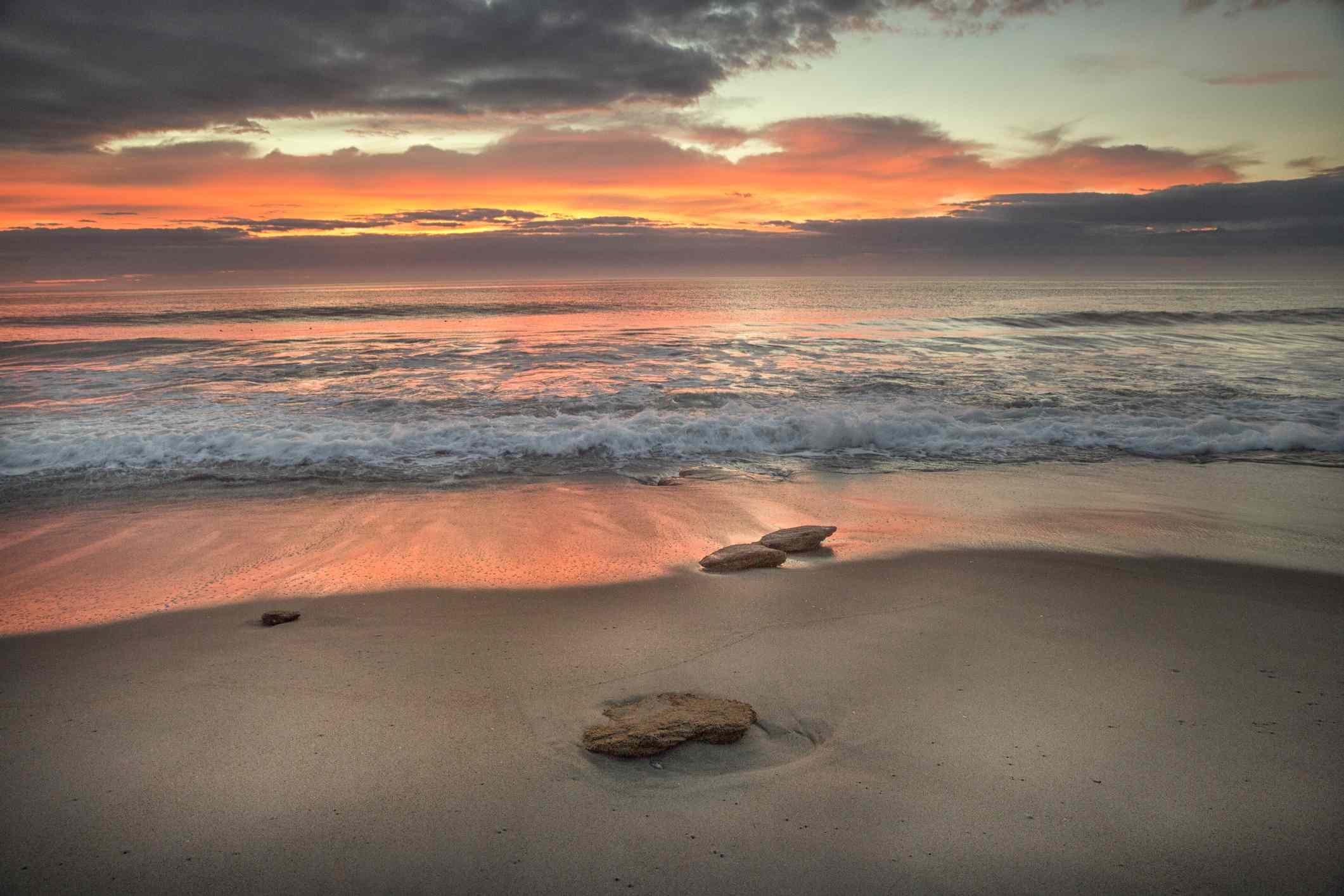Sunrise at Kure Beach
