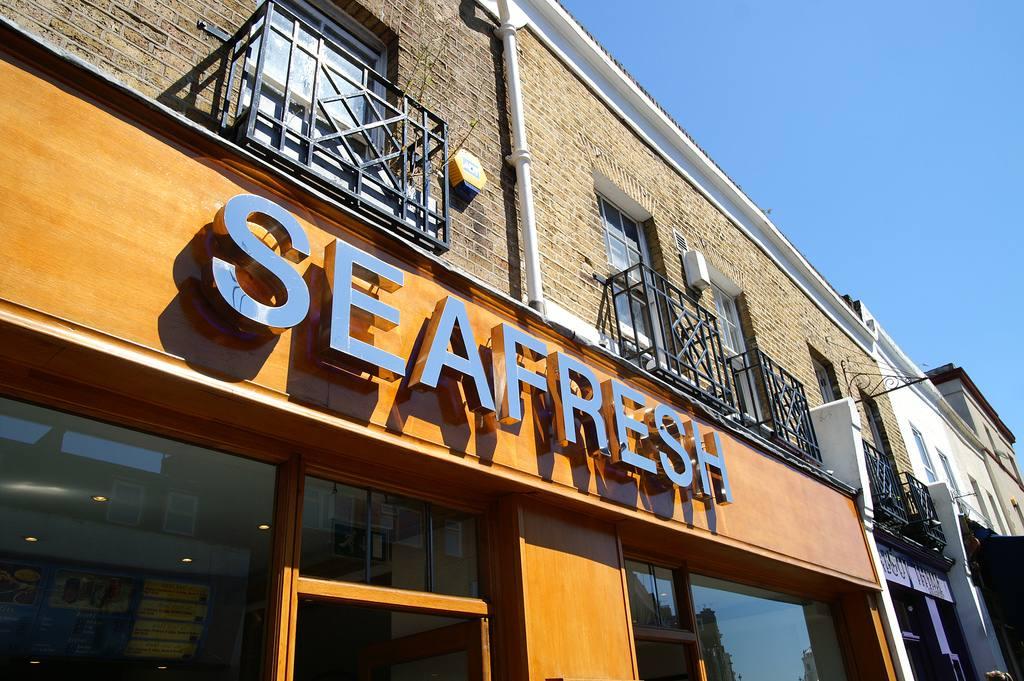 Seafresh seafood restaurant in London