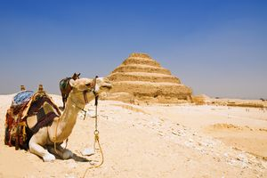 Great step pyramid of Djoser, Saqqara