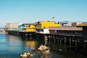 The pier in MOnterey