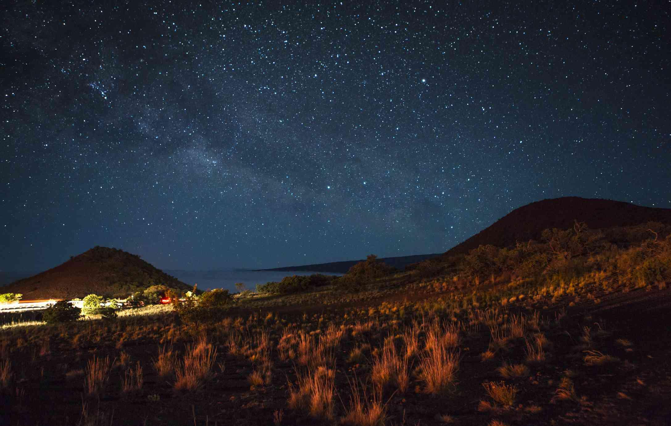Stargazing on Mauna Kea on the Big Island of Hawaii