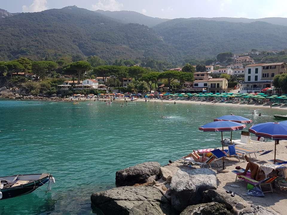 Spiaggia Sant'Andrea, Elba