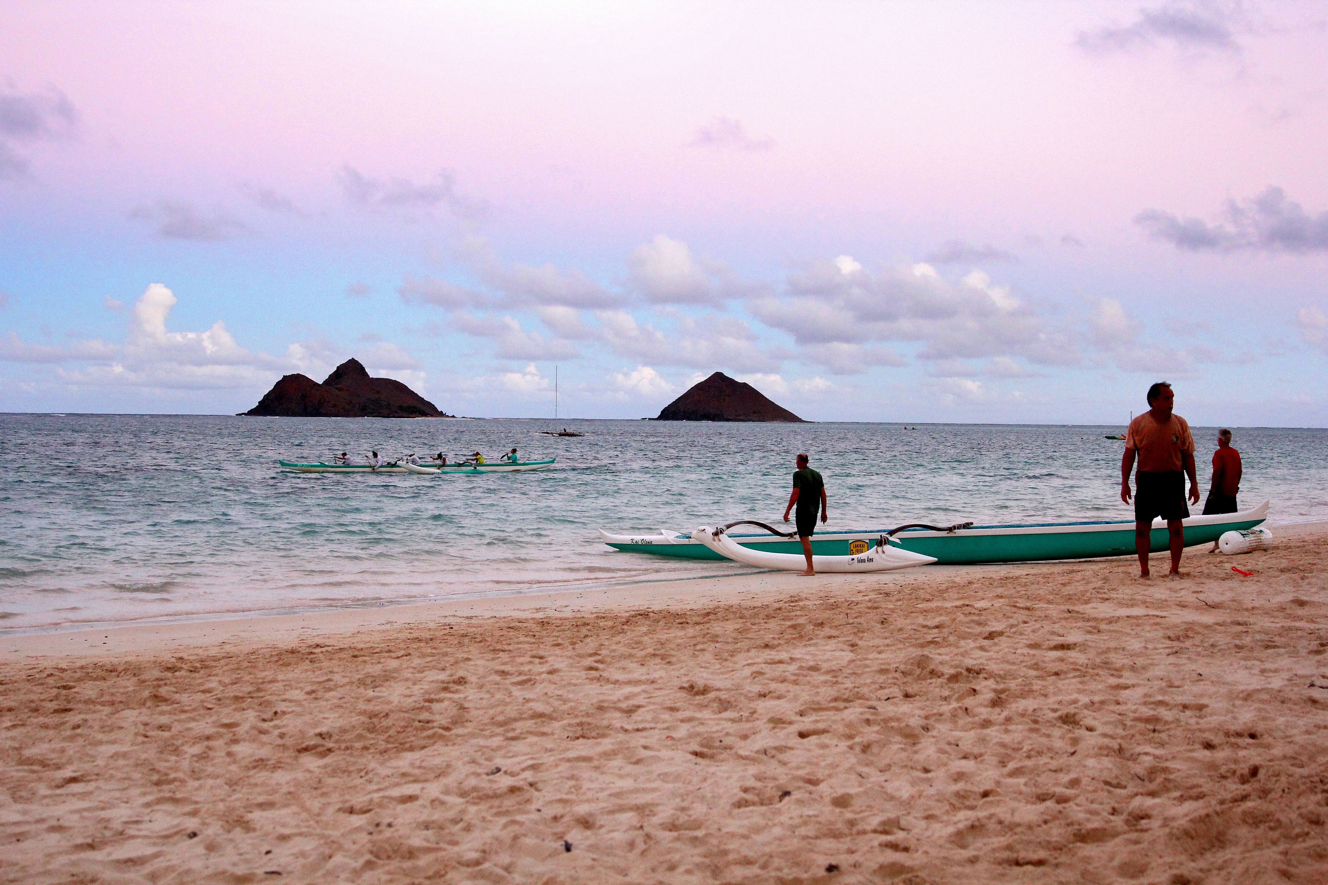 Mokulua Islands and Lanikai Beach