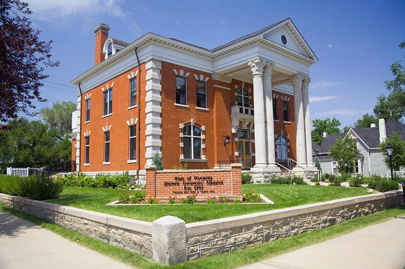 Historic Governors' Mansion in Cheyenne Wyoming