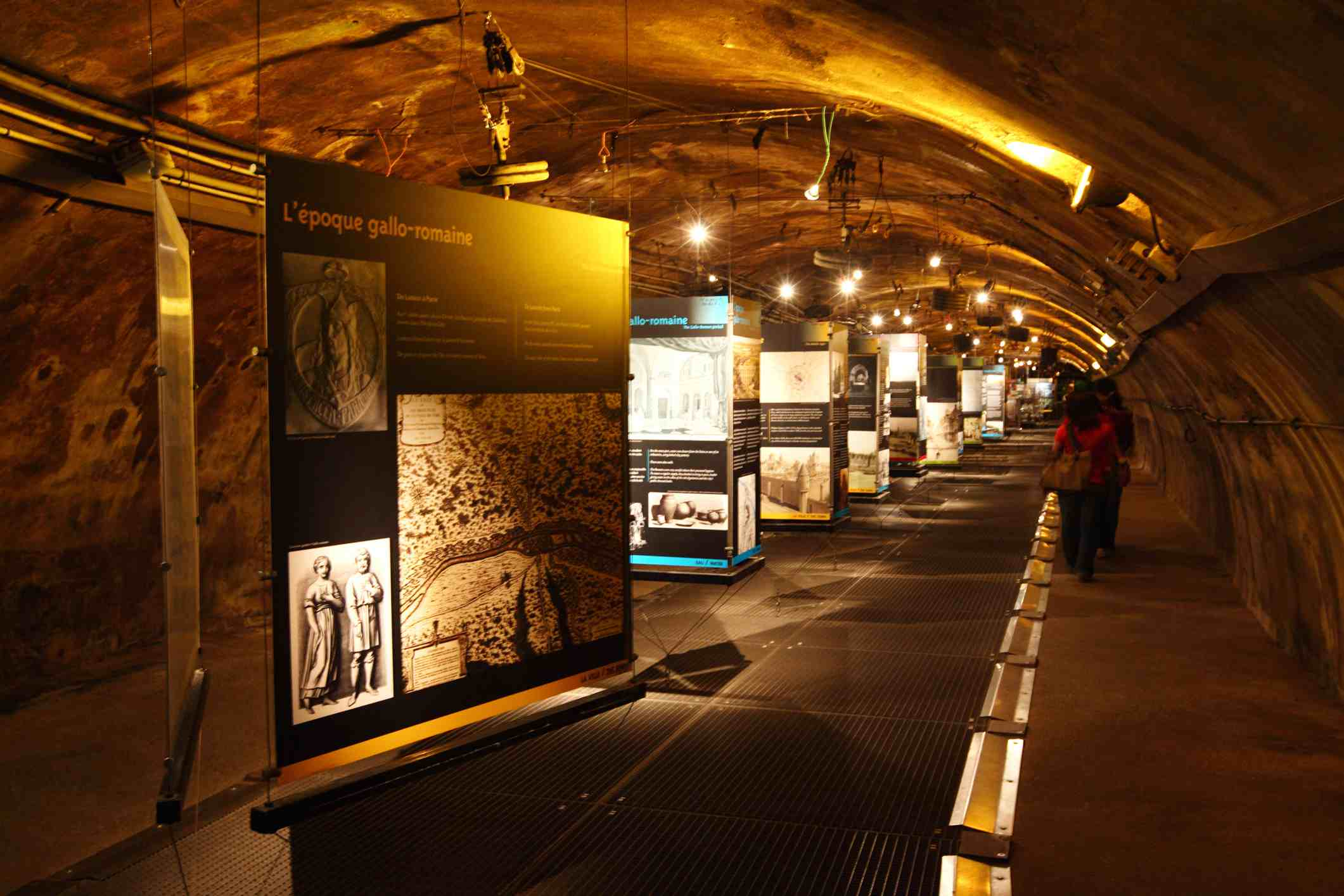An exhibit at the Paris Sewer Museum