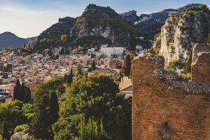 Taormina cityscape