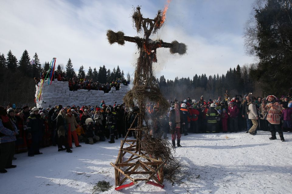 Maslenitsa Celebrated In Russia