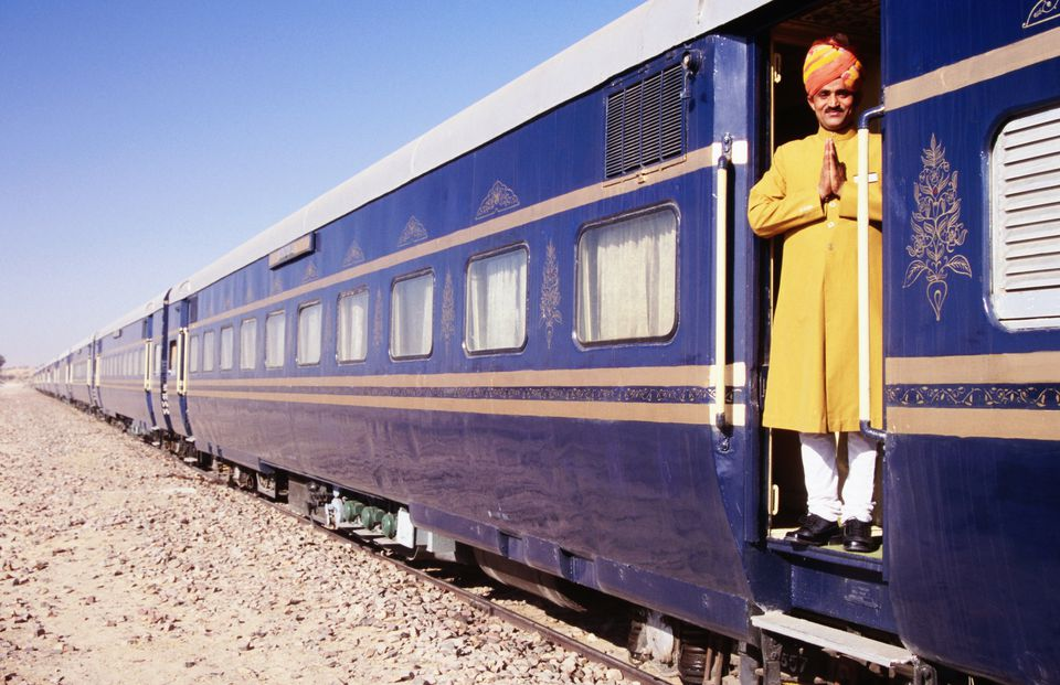 Heritage on Wheels train in India.