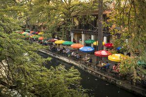 San Antonio Riverwalk canal